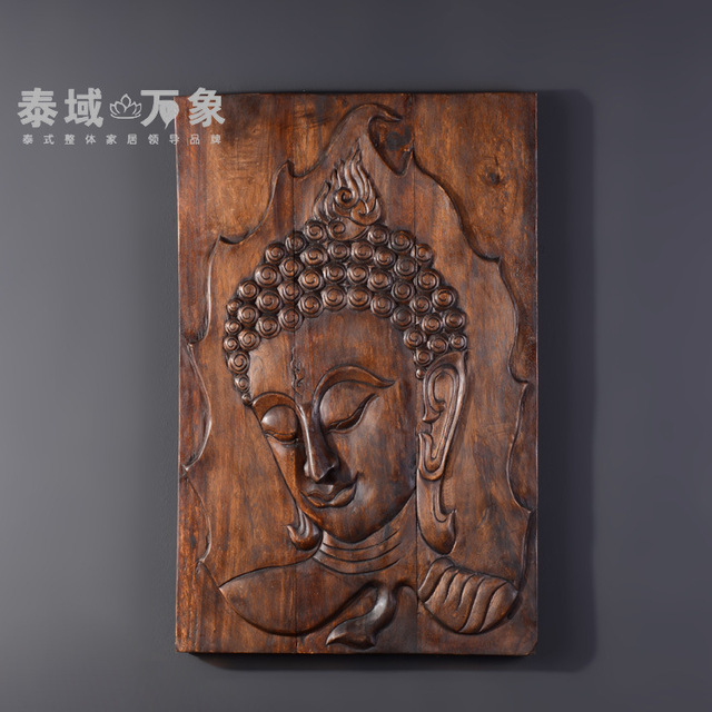 Soft loading relief carvings of buddha pendant southeast asia
