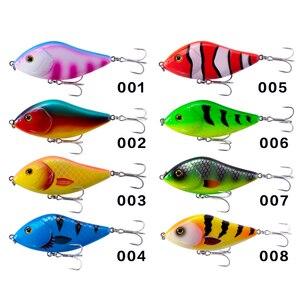 Image 5 - Hunthouse釣りルアーLW130pencil vibジャークベイトクランクベイト 7 センチメートル/17 グラム 10 センチメートル/47 グラムstickbait虹色釣り低音ペスカleurre