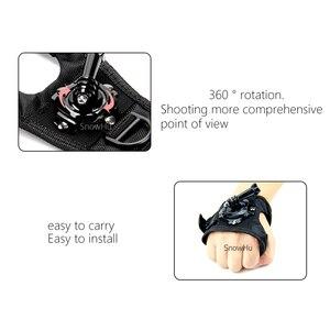 Image 4 - כפפת יד להקת 360 תואר מסתובב סיבוב יד רצועת חגורת חצובה הר לgopro Hero 9 8 7 6 5 4 3 + Pro עבור SJCAM GP127L