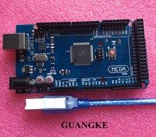 Mega 2560 R3 ATmega2560 16AU Board USB font b Cable b font Compatible with mega 2560