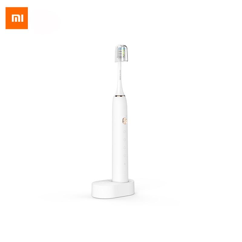 imágenes para Xiaomi Soocare X3 Saludable Inteligente cepillo de Dientes Eléctrico de Sonic Bluetooth Impermeable Acústica WaveTooth APP Remoto Inalámbrico de Carga