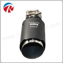 89mm Aço Inoxidável de Escape Ponta Silenciador Do Escape tubo de Escape AKrapovic Universal Para O Carro