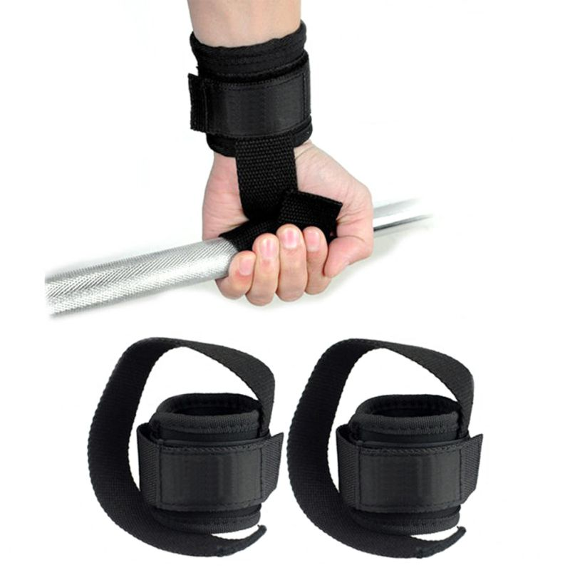 Gym Workout Power Training Weight Lifting Straps Wraps Hand Bar Wrist Support 6pcs power drill