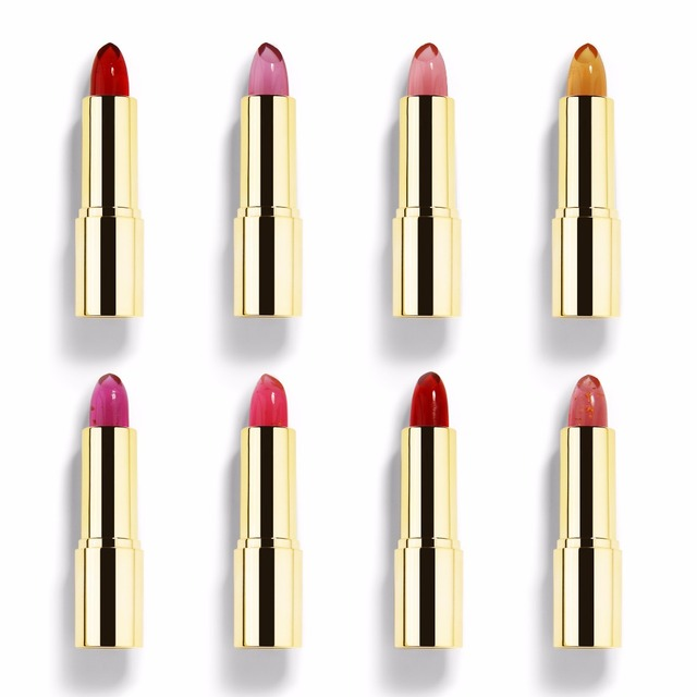 [Rosalind Beauty] MIXIU 8 Optional Golden Temperature Changes Color Lipstick Professional  Makeup Cosmetic Lipstick Beauty
