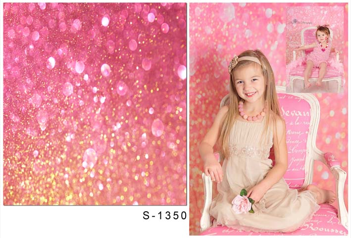 Girls photo background vinyl  sweet pink diamond photography backdrops for newborn birthday photo studio backdrop S-1350 retro background christmas photo props photography screen backdrops for children vinyl 7x5ft or 5x3ft christmas033