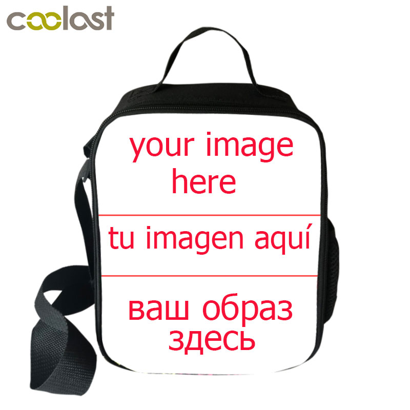 Customize Your Name Image Students School Food Bag Boys Girls Lunch Bag Wild Donkey Bag Women Men Lunch Box Best Gift