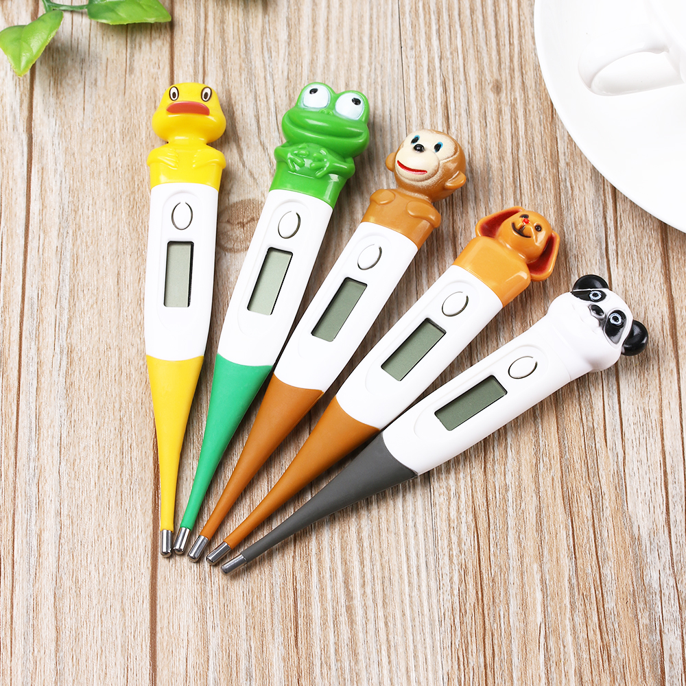 Cute Soft Touch Infant Waterproof Thermometer