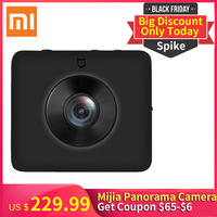 Black Friday Spike Xiaomi Mijia 360 Action Camera Ambarella A12 Video 3.5K Mi Sphere Action Sports Camera Support 128GB TF cards