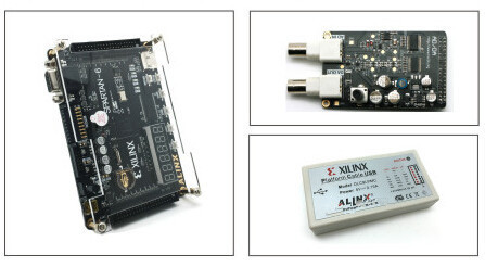 US $98 0 |XILINX FPGA Board SPARTAN6 XC6SLX9+ USB FPGA Emulator+AD/DA  Module-in Replacement Parts & Accessories from Consumer Electronics on