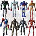 Cool 8pcs Set Real Steel Zeus TWIN CITIES Atom Midas Noisey Boy Figure LOOSE Toy
