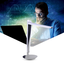 table LED lamp USB charging Foldable book reading light Dimmable Adjustable intensity office Desk lamp Touch Switch desk light