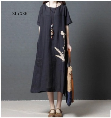 SLYXSH New black Pregnant women dress pregnant women wearing short sleeve pregnant women dress fashion pregnant women dresses