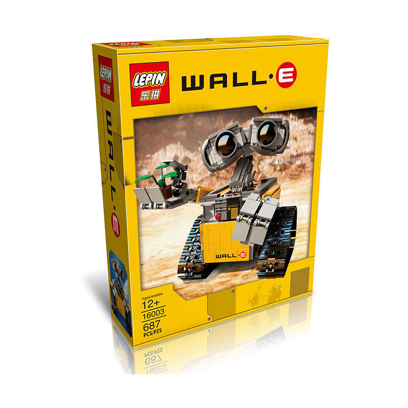 Lepin-16003-687-Pieces-Idea-Robot-WALL-E-Building-Blocks-Bricks-Blocks-Toys-for-Children-WALL-E-Birthday-Kids-Gifts-5