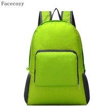 Facecozy New Outdoor Sports Couples Ultralight Portable Bag Women Men Ultra- Thin Beach Tourist Backpacks( 9de9c1e5dc191