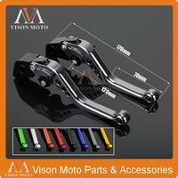 CNC Short Pivot Brake Clutch Levers For Kawasaki GPZ500S EX500R NINJA ZR750 Zephyr Z750S ZXR400