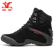 2018 Related new men's sports outdoor sneakers black hiking shoes wear men's ladies waterproof hiking shoes