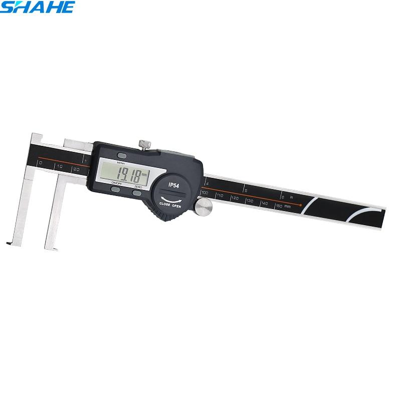 22-150mm Inside Groove Digital Caliper Internal bore Caliper Gauge Paquimetro