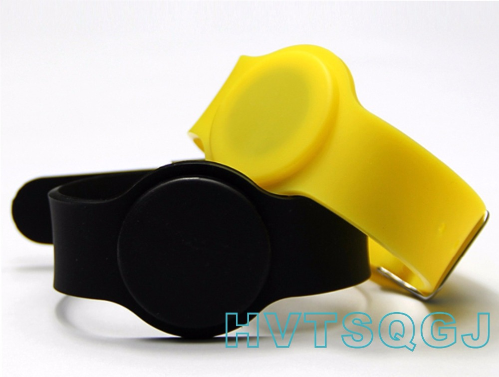 Security & Protection 100pcs/lot 125khz Id Em4100 Rfid Smart Wristband Silicone Electronic Bracelets Wrist Band For Access Control/fitness