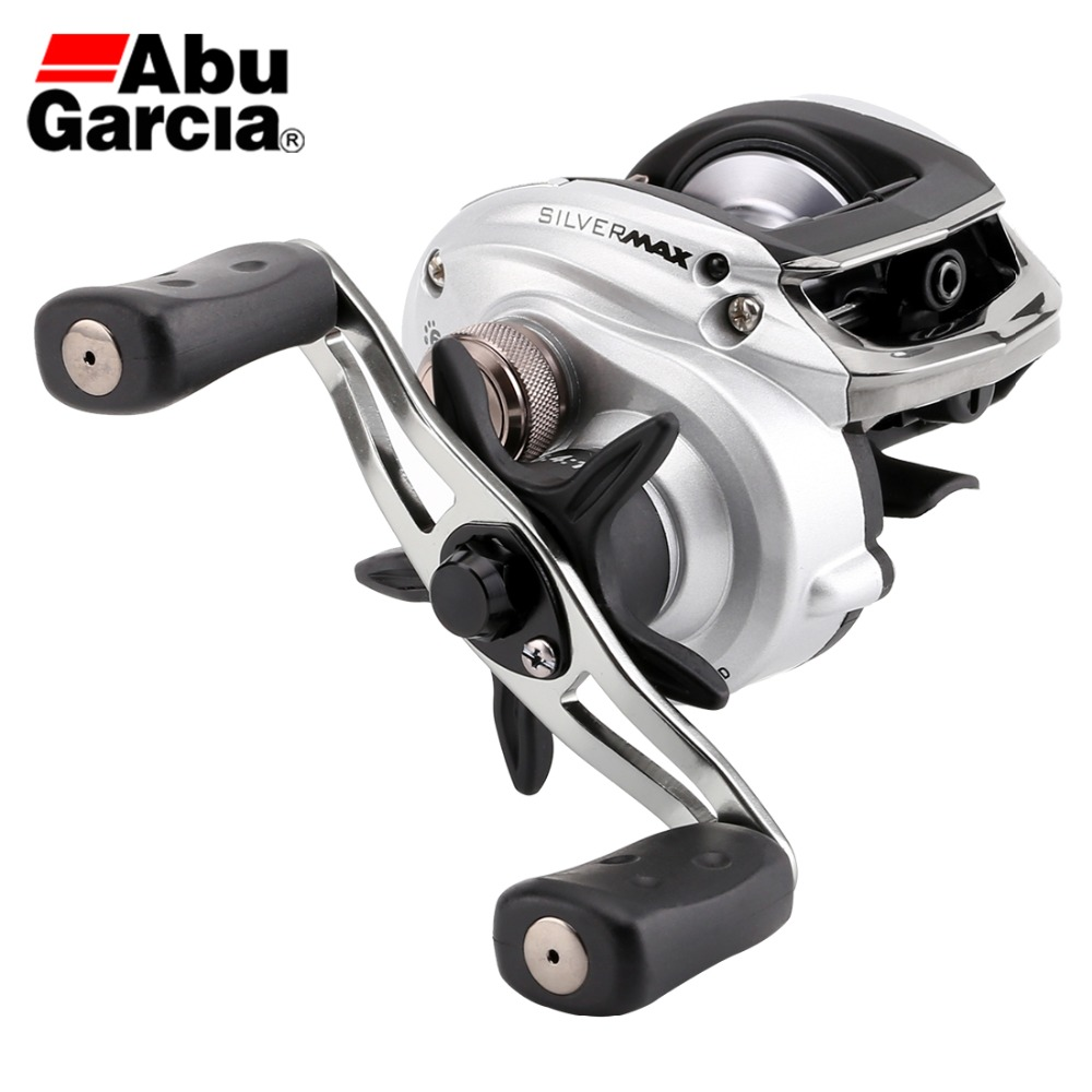 NEW Abu Garcia Brand SILVER MAX3 SMAX3 Left Right Hand BaitCasting Fishing Reel 5 1BB 6