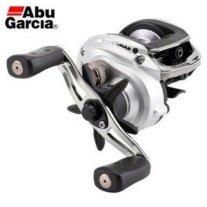 Image 1 - NEW Abu Garcia Brand SILVER MAX3 SMAX3 Left Right Hand BaitCasting Fishing Reel 5+1BB 6.4:1 209g Bait Casting Reel
