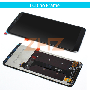 Image 4 - Original For Xiaomi Redmi 5 Plus display touch screen + Frame Redmi5 Plus LCD Digitizer pantalla Replacement Repair Spare Parts