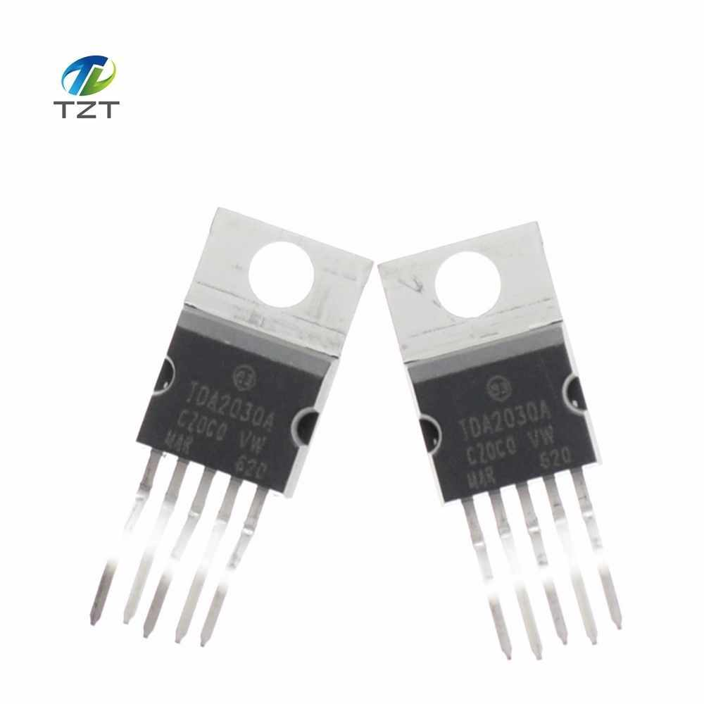 Detail Feedback Questions About 10pcs Lot Tda2030 Tda2030a Linear Poweramplifiergenneralpurposebyictda2030 To 220 5 Ic New In Stock