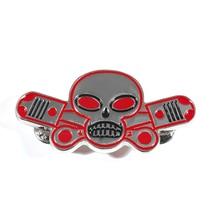 Fashion Skeleton Wing Brooch Motorcycle Biker Hells Angels Pins Man Party Rock Gift