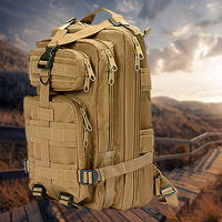 35L Military Backpack Tactical Assault Bag Army Molle Waterproof Backpack Small Rucksack For Outdoor Traveling Hiking Hunting