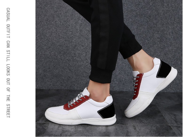 Avec Cyabmoz 5 Ascenseur Caché Dentelle Cm red Mode Hombre Augmenter Cm Sneakers up White Hauteur Black Casual black Talon Cm Chaussures Marque 7 Hommes Zapatos Yvf7yIb6g