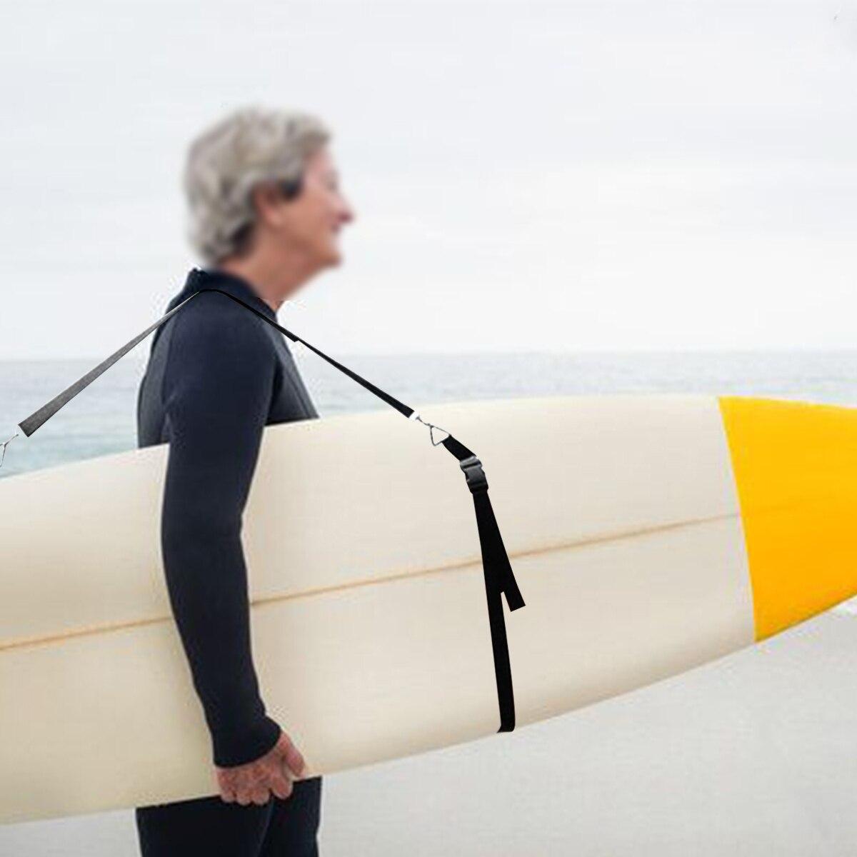 Prancha de surf ajustável ombro transportando cinta