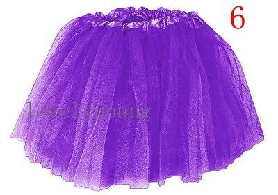 Дешевые юбка-пачка, юбка для девочки в акционной цене, девушки юбка - Цвет: purple