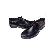 Namazuo toushirou Shoes Cosplay Touken Tanbu Adult's Black Leather Shoes Cosplay