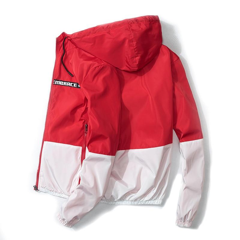 Men Women Outdoor Sports Hooded Coat Jacket Windproof Waterproof 2019 Spring New Style Handsome Students Wild Korean-Style Slim