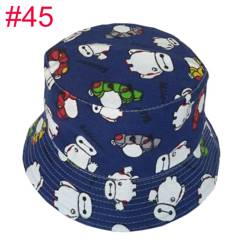 92a2cdb6a81d Bnaturalwell Kids Summer Hat Bucket Style Printing Sun Hat Accessories For Girls  Boys Children Bucket Cap Panama Reversible H391-in Hats & Caps from Mother  ...