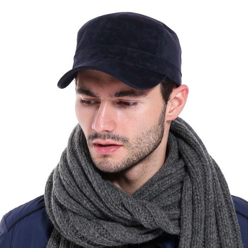 [AETRENDS] Fekete sapka férfi teljes pamut csont baseball kalap lapos snapback sapkák szabadtéri gorra hip hop visera plana tömör színek Z-3030