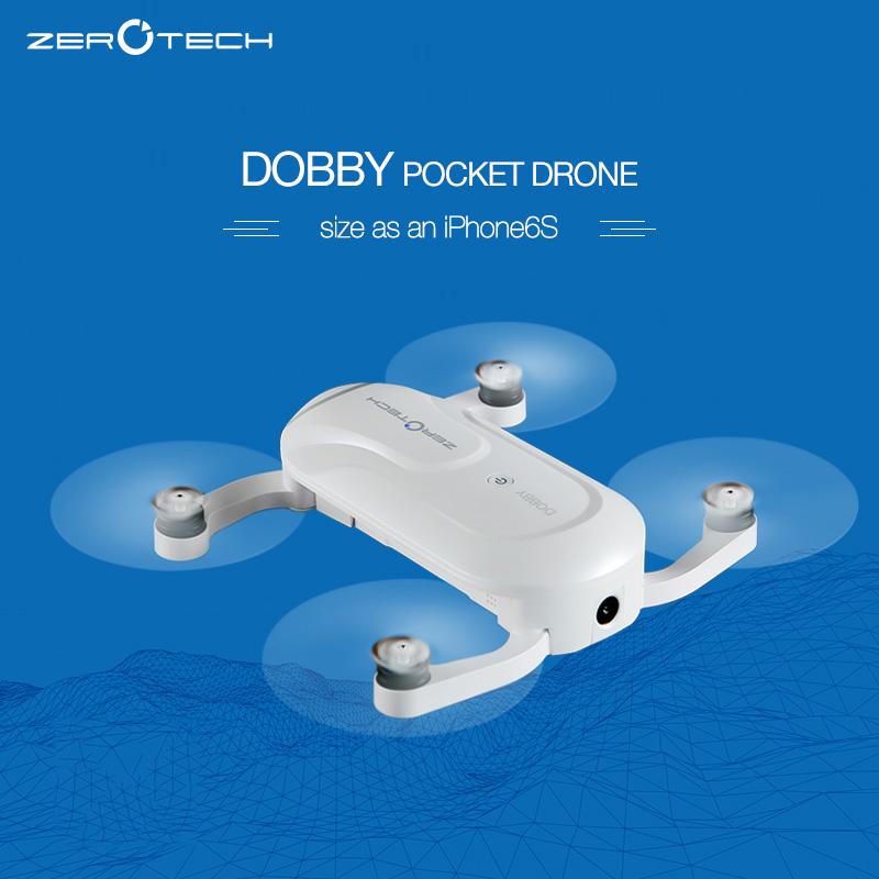 Prix pour ZEROTECH Dobby Poche Selfie Drone FPV Avec 4 K HD Caméra et 3-Axis Cardan GPS Mini RC Quadcopter PK yunnec brise Livraison gratuite