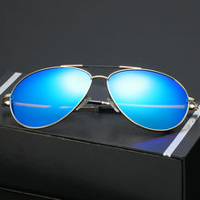LUFF High Quality Men Metal Frame Polarized Sunglasses Coated Fashion Sunglasses Women Driving Travel 5 Color SN27032