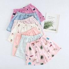 Japanese Pyjama Bottoms Women XL 100% Cotton Lace Up Lounge