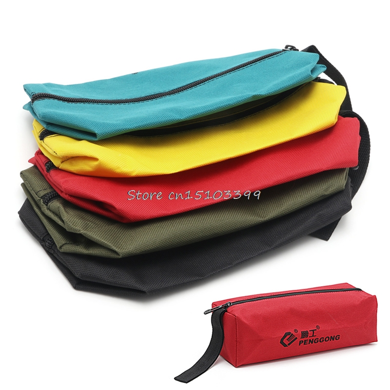 Multifunctional Storage Tools Bag Utility Bags Oxford for Small Metal Parts Bags #G205M# Best Quality ballistic nylon tools bag for tools storage 280x245x180mm
