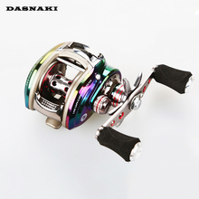 DASNAKI BSL/HB /BSLW 6 Ball Bearings Left/Right Fishing Reel  6.3:1 Sea Spinning Reel for Freshwater Saltwater Fishing