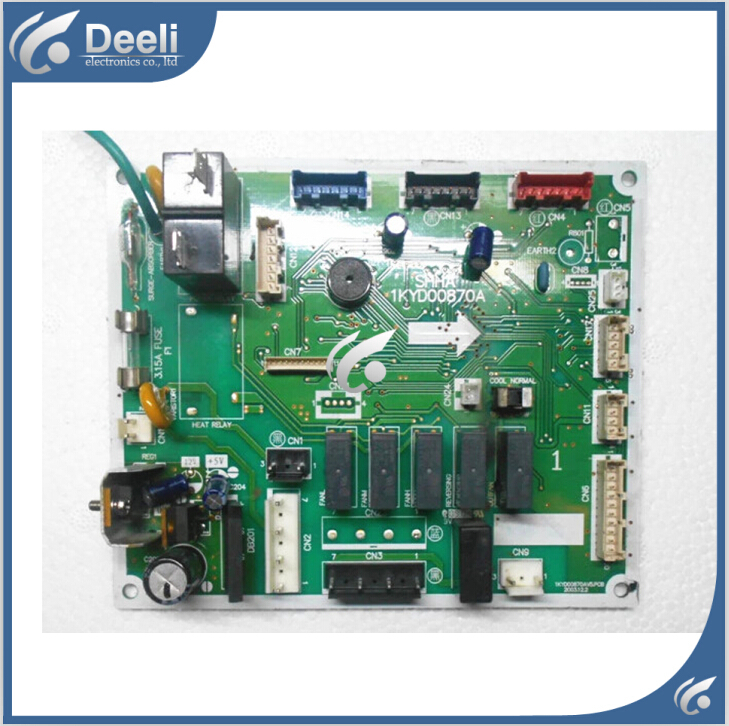 Подробнее о 95% new good working for air conditioning computer board 1KYD00870A PC board control board on sale 95% new good working for air conditioning computer board a742148 a742498 a741495 a741358 a71814 pc control board on sale