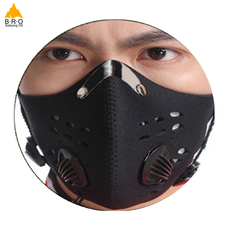 Cycling Mask 2018 Activated Carbon Anti-dust Half Face Sports Bicycle Bike Training Mask Dust Mask Filter Mascaras Ciclismo