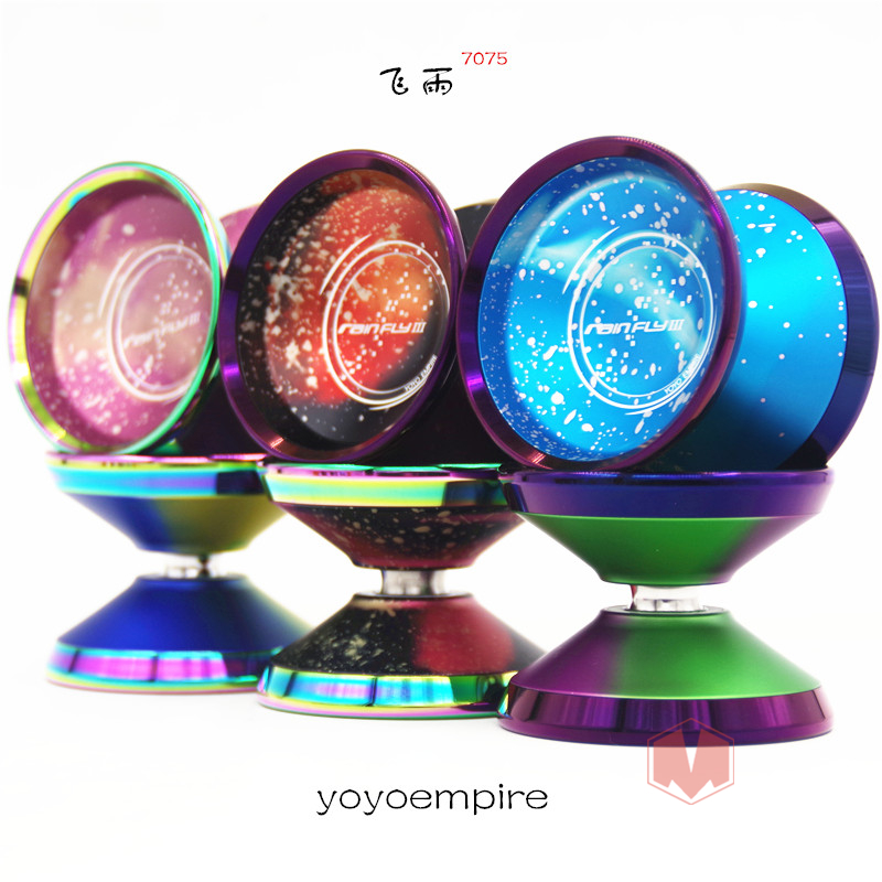 2019 New Arrive YOYOEMPIRE RainFly3 YOYO For Professional YOYO Colorful Ring yo yo 7075 metal yoyo