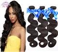 7A Brazilian Virgin Hair Brazilian Body Wave 3bundles 100% Unprocessed Human Hair Weave No Shedding Brazilian Hair Weave Bundles