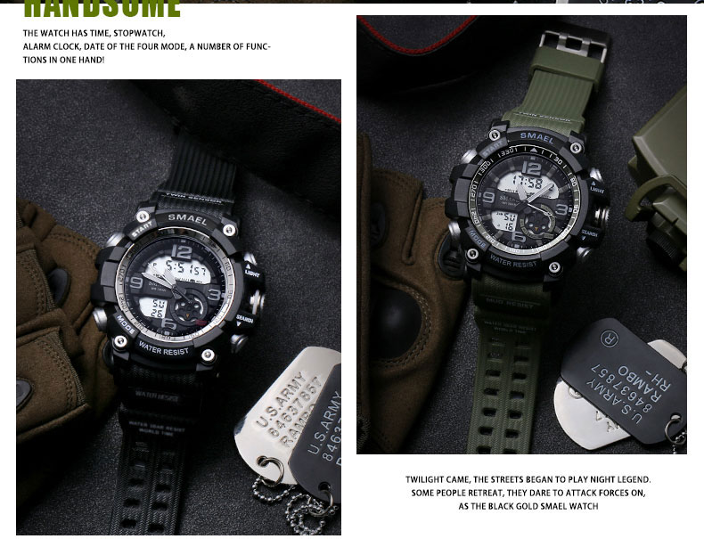 11 sport watch led