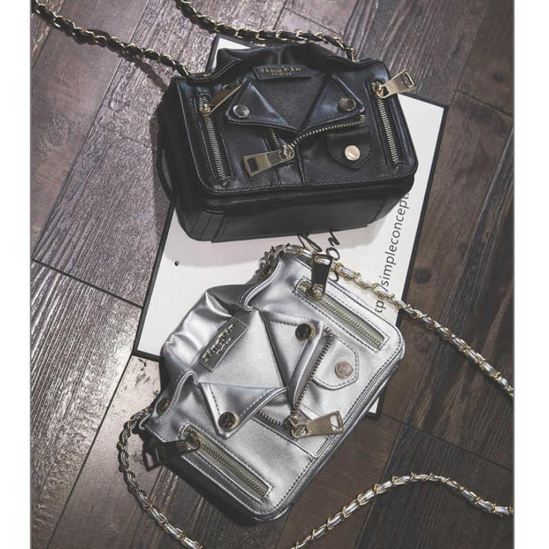 Buyuwant designer bolsa legal jaqueta bolsa feminina bolsa de ombro punk motobike corrente saco das senhoras crossbody sacos BW01-SB-ltxkjp