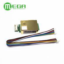 MH Z19 MH Z19B sensor infravermelho do co2 para a saída serial 0 5000ppm do sensor uart pwm do dióxido de carbono do monitor do co2
