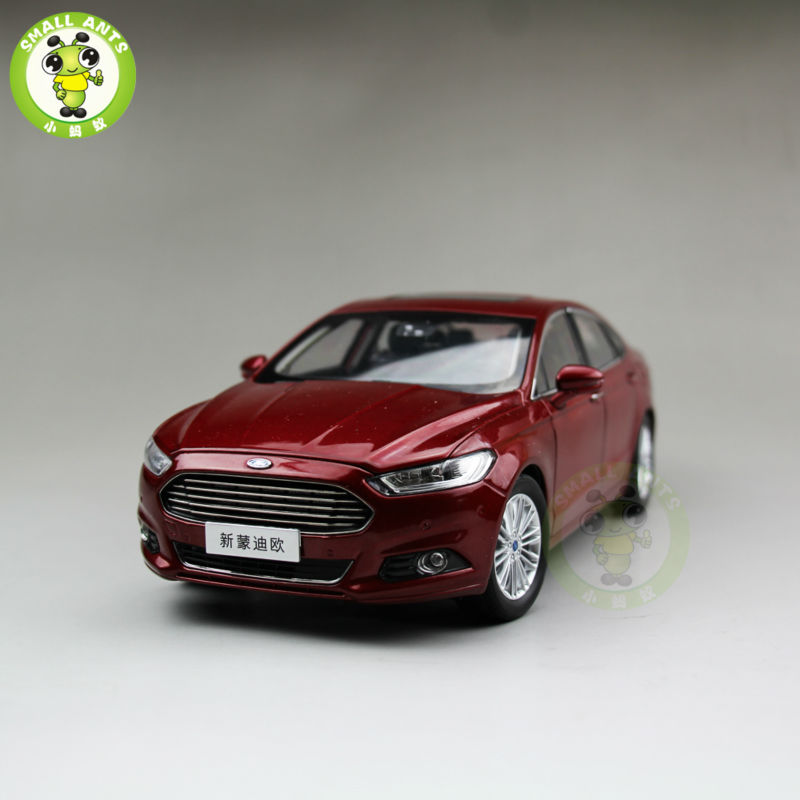 1/18 2013 Ford New Mondeo Diecast car model for collection gifts hobby Red 2013 1 18 ford mondeo fusion diecast model car alloy model car hobby stores cars for sale aluminum die casting products