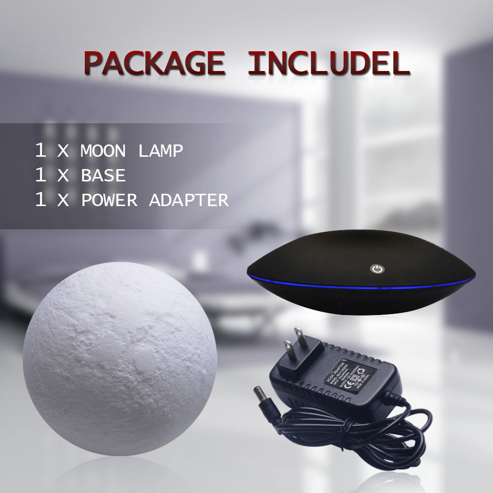 3d lua lampada 360 rotativa toque flutuante 03