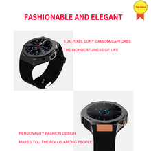 original Android 5.1 MTK6580 quad -core 1GB 16GB Smart Watch Clock With GPS Wifi 5MP Camera 3G Smartwatch For Android iOS Phone цена